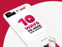 10 Ways to Hack you - Promo Website
