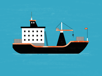 Oceanic fishing cargo ocean boat ship