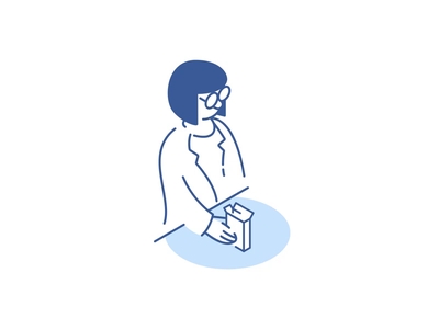 Pharmacy medication xray doctor aftereffects illustration lab pharmacy health onboarding icon graphics motion animation