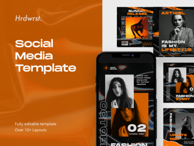 Social Media Template illustration social media pack social media instagram template instagram stories advertising branding graphic digital templatedesign snapgram instastory instagram template media social