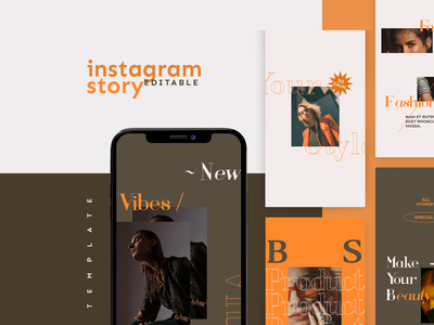 Instagram Story Template designs illustration youth vibes girl template social media design instagram post instagram template story stories socialmediatemplate socialmediapack socialmedia instagram stories instagram hypebeast design branding advertising