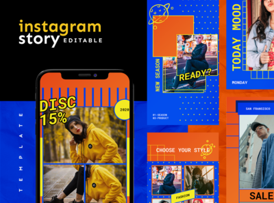 Instagram Story Template