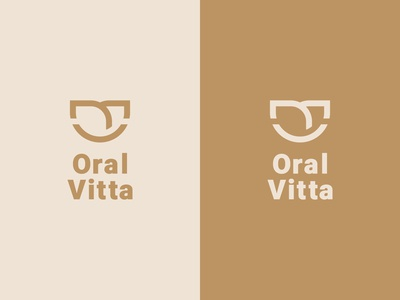 Color and Brand variations of Oral Vitta's Branding design