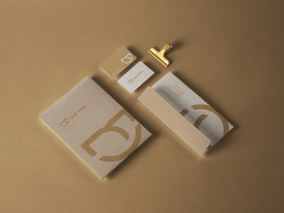 Stationery Design of Oral Vitta's Branding Design