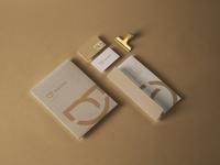 Stationery Design of Oral Vitta's Branding Design