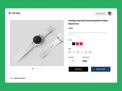 E-Commerce Shop branding ui ux typography web design daily 100 challenge design minimal 012 dailyui