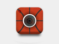 Basketball Cam App Icon