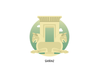 Persepolis: Apadana Palace Badge