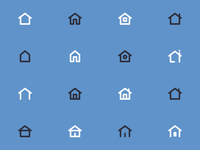 HOME Icons for user interfaces - 01