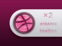 ×2 Dribbble Invites