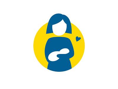 Breastfeeding icon nursing sticker children blabloom child baby mother mom feeding breast breastfeeding