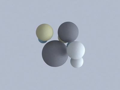 Balls of cloth