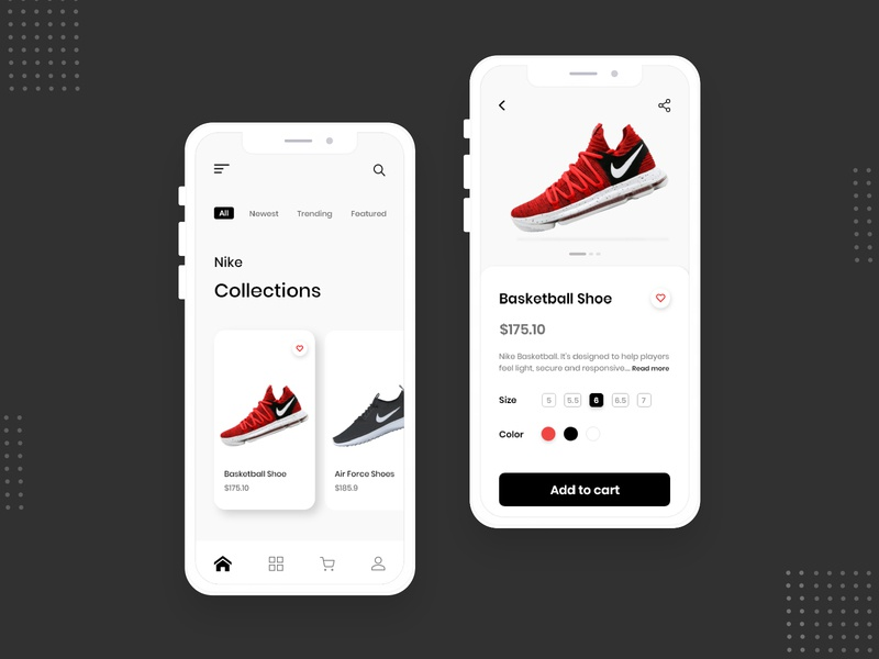 Shoes App Design! nike shoes fashion app online shopping online store online shop shopping shoes app shoes store shoes shopping app fashion ecommerce app app design branding sketch design ux ui adobe xd
