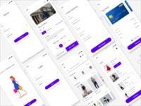 Fashion Cart App Design