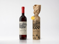 Wine label branding