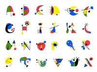 Miro Typeface - school project 2012 ( FREE download )