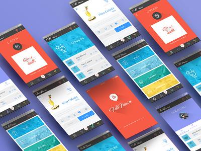 FolieMarine App - 2 app dashboard flat ios mobile appdesign interface ux ui profile