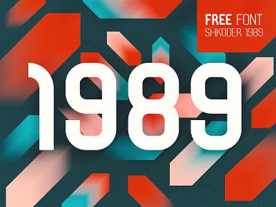 SHKODER 1989 – FREE TYPEFACE freebie pattern free font font typeface typography shkoder 1989 albania letter font type logo branding illustration