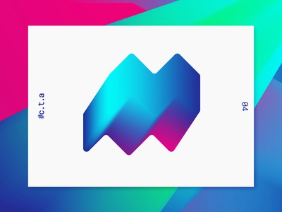 Custom Type Afternoon 04 daily chellenge 2017 typography custom letters playful type layout gradient illustration