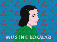 """THE MUZE"" - Musine Kokalari - Illustration"