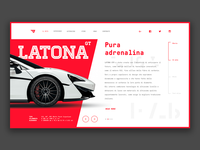 Latona Gt - Supercar Concept website