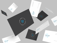Personal Business Card Design r1 typography illustrator minimal design creative logo flat vector branding buisness card
