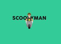 Schootyman V2 illustrator illustration branding minimal design creative logo flat vector