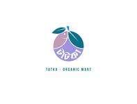 Tatka - Organic Mart minimal logo creative design flat vector branding