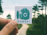 Šumski emblem - Logo Concept
