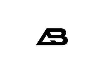 Alpha Baseline Logo logos logodesign design graphicdesign monogram logo ab