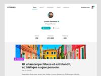Stories Website