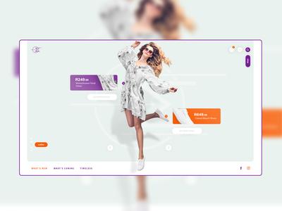 Fashion Web Design Idea