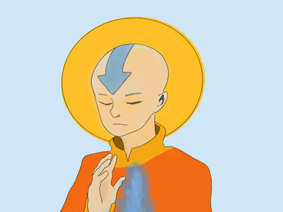 Aang procreate avatar the last airbender