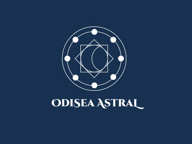 Odisea Astral Board Game Logo