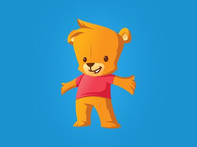 Cubtab Mascot mascot cub happy app