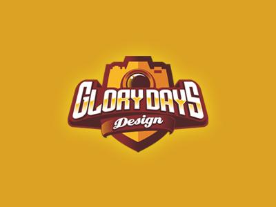 Glorydays Design badge sports logo photography sport logo