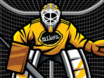 Mike's Hard Lemonade / Buffalo Wild Wings game restaurant sports hockey basketball soccer franchise merchandising beverage goalie mikes hard lemonade buffalo wild wings