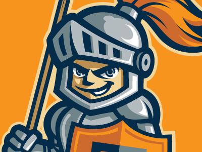Banner Tournament Mascot mascot banner shield helmet knight