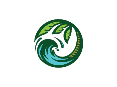 Pura Vida Symbol palm palm tree beach sea island water ocean