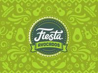 Fiesta Avocados Packaging Pattern