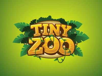 Tiny Zoo zoo tiny logo app game
