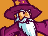 Unused Wizard Mascot - For Sale