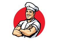 My Muscle Chef Mascot Refresh