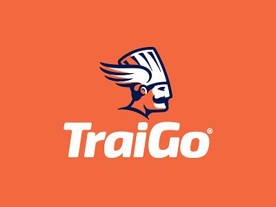 Traigo Logo deliver wings logo design logo food delivery delivery food chef hat chef
