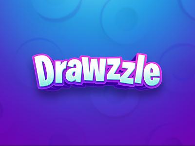 Drawzzle game logo app game app game app game live game show live show logo design logo mobile mobile game quiz puzzle game draw trivia