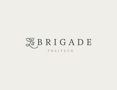 Secondary logo for La Brigade - catering & food services