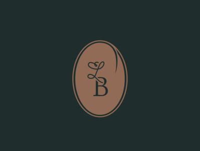 Monogram badge for La Brigade - catering & food services