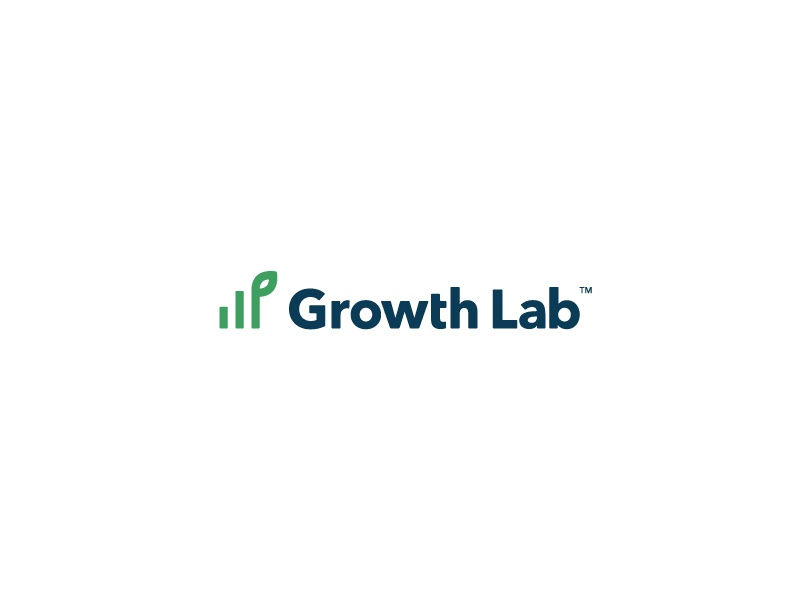 Growth Lab growth color simple identity branding icon wordmark logo