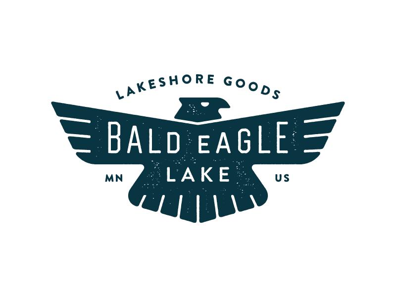 BEL V03 apparel minnesota crest shield design typography branding logo eagle