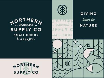 NSC 01 san-serif script line art illustration typography logo identity design branding